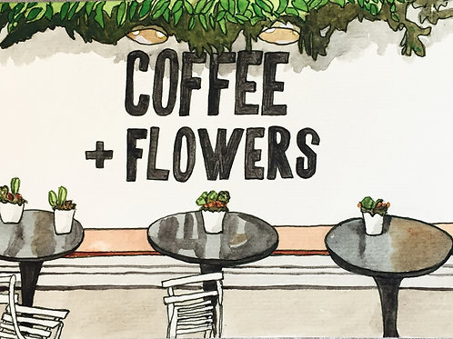 Coffee + Flowers