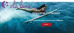 Ola Luna website
