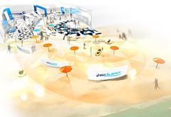 オリンピック企業パビリオンデザイン