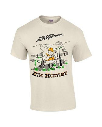 Elk Hunting T Shirt - The Elk Hunter