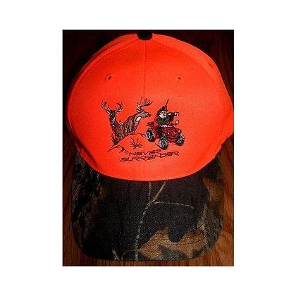 Deer Hunting Hats - Hunter Orange