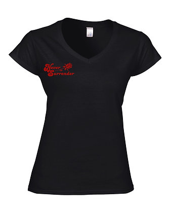 """Red Rose"" Shirt - Lady Comfort Logos"