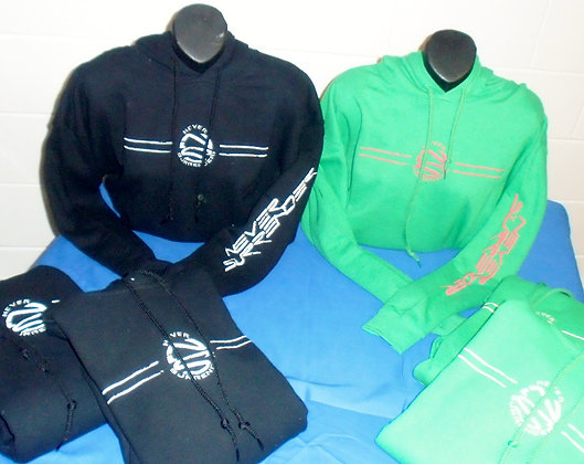Hoodie Sweatshirts - Special!!! Black and Green