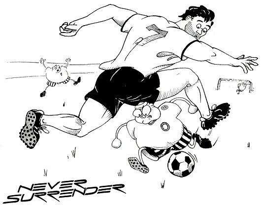 Never Surrender - Soccer