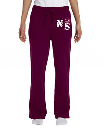 Sweat Pants - Lady Comfort Maroon