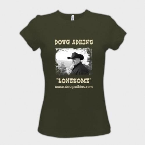 """Doug Adkins T-Shirt """"Lonesome"""" Women"""