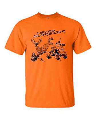 Deer Hunting T Shirt  in Hunter Orange