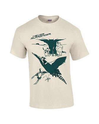 "Pheasant Hunting ""Fence"" T Shirt"