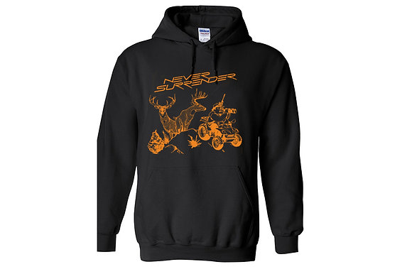 Never Surrender - Deer Hunting Sweatshirt