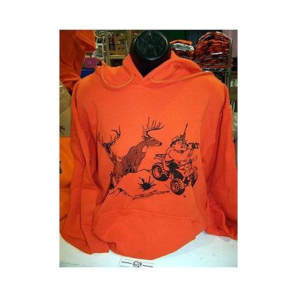 Deer Hunting Sweatshirts in Hunter Orange