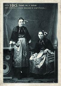 carte postale Jeunes danseuses de drum'n