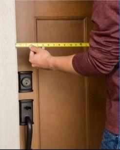 Storm Door Site Measurement