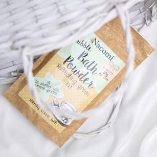 Puder Do Kąpieli – Odświeżająca Zielona Herbata 100 g