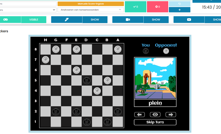 Online game Checkers