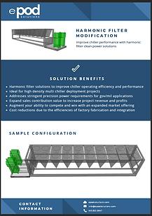 ePod Solutions Harmonic Filter Modification