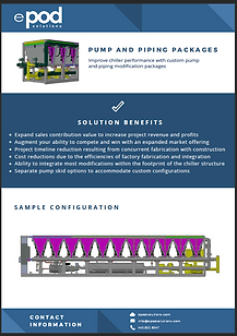 ePod Solutions Pump and Piping Packages