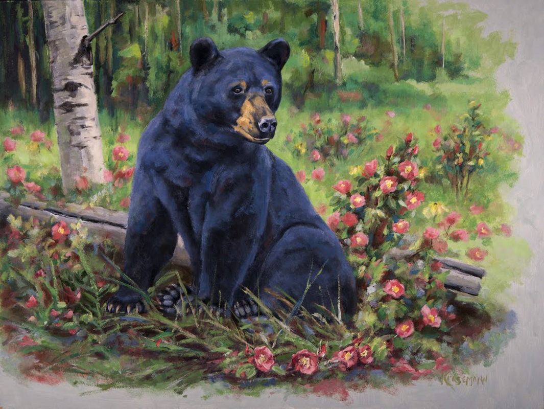 Bed of Roses - Black Bear