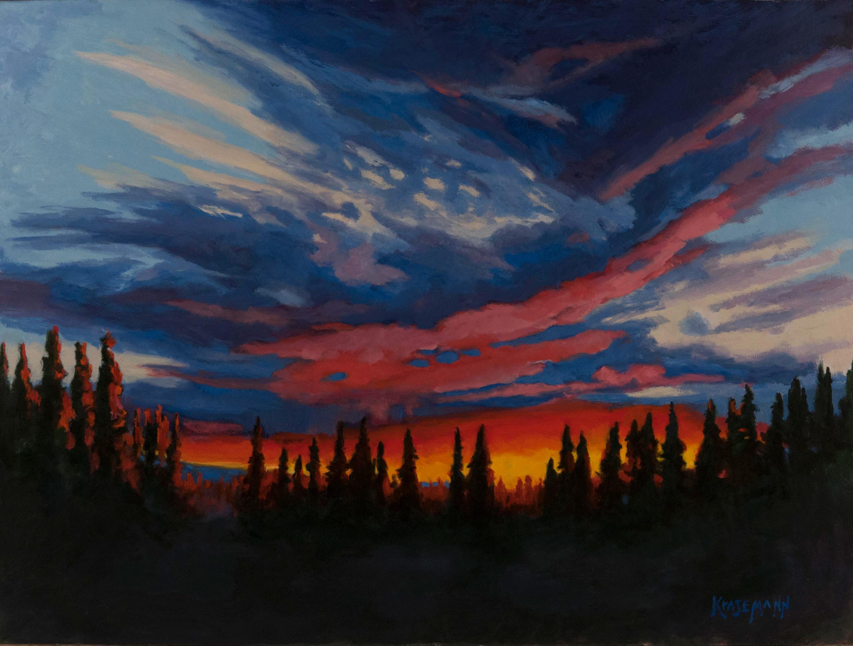 Eveningtime 18x24 Oil