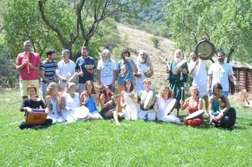 Gong Master Trainig 2015. Organizado por Cosmic Gong