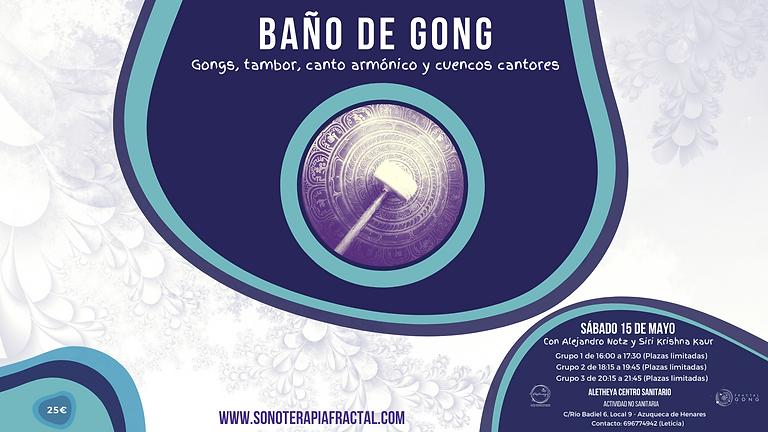 Baño de Gong con Alex Notz & Siri Krishna Kaur