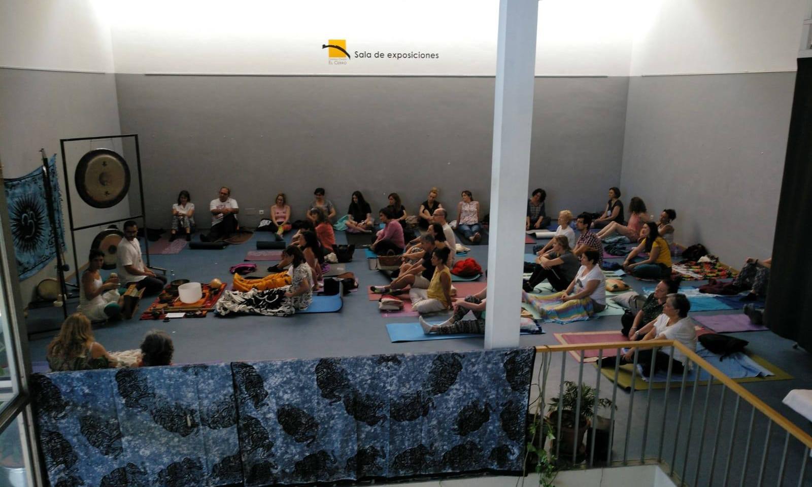 Baño de Gong en Asociación Cultural El Cerro