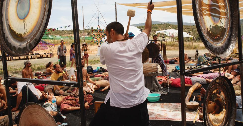 Gong Dance en Agni Spirit Festival 2019