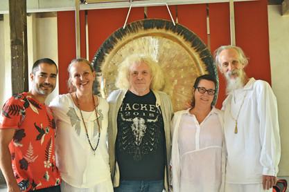 Gong Nidra Training junto a Mehtab y Laura Benton, Rolf Nitsch y Tina Maria Stahl