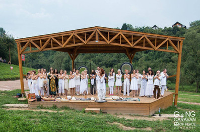 Gong Caravan Of Peace 2016. Organizado por Gongmuse