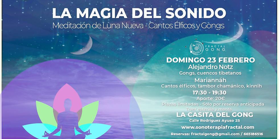 La Magia del Sonido - Meditación de luna nueva