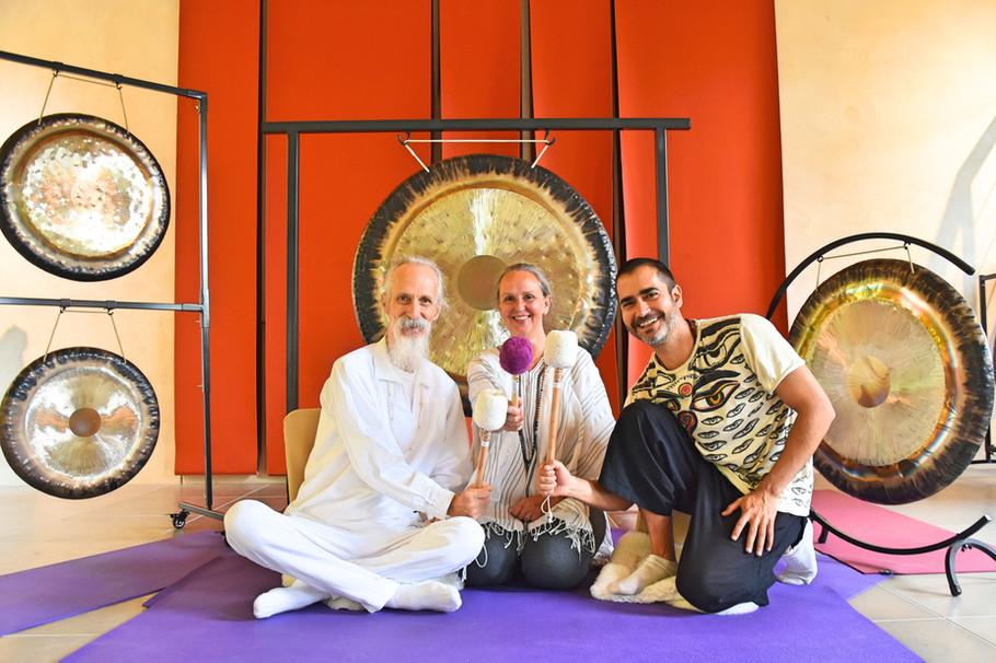 Gong Nidra Training con Mehtab en Dinamarca 2019Benton