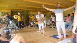 Gong Conciousness Training 2017 con Don Conreaux y Gongmuse