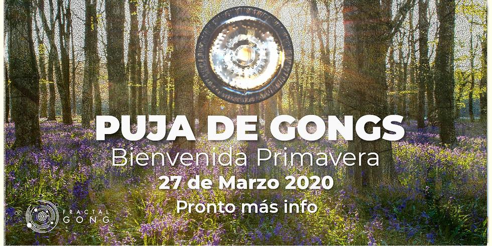 Puja de Gongs - Bienvenida Primavera