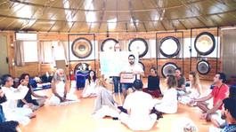 Gong Master Training 2015 organizado por Cosmic Gong