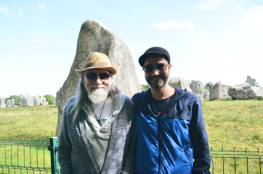 Don Conreaux y Alejandro Notz en Carnac-Bretaña2016