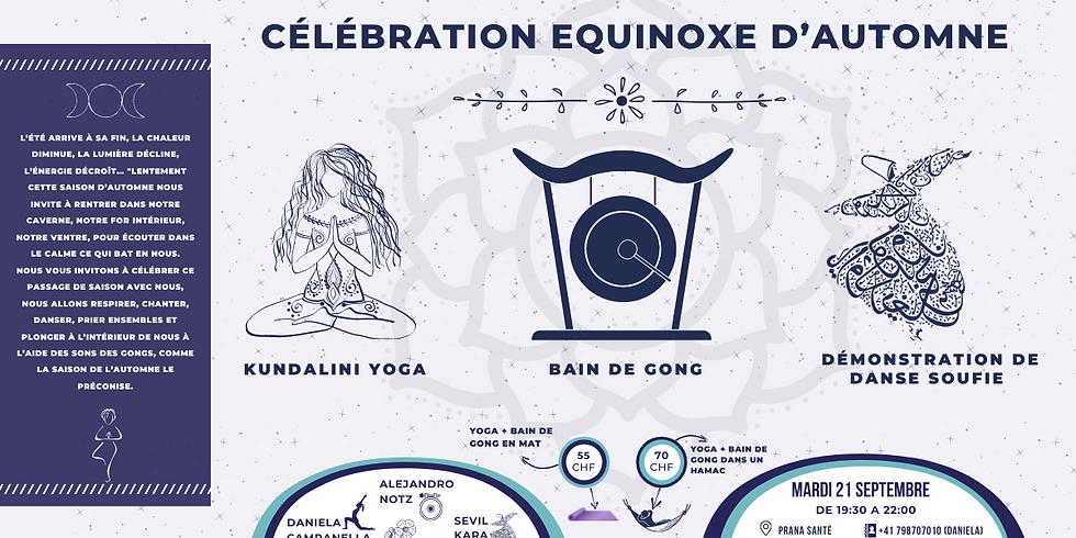Célébration Equinoxe d'automne