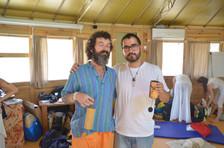 Gong Master Training 2015 con Don Conreaux y Angelo Surinder. Organizado por Cosmic Gong