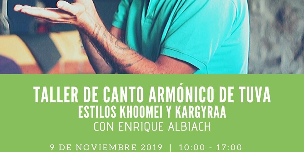 Taller de Canto Armónico // Tuvan Overtone Singing