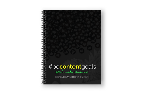 Be Content Goals – Social Media Planner