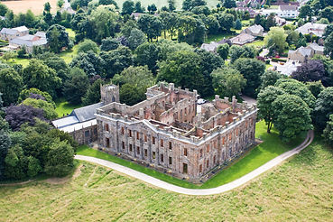 Survey of a stately home that is derelict and too dangerous. Seruveyed using drones by dronetec