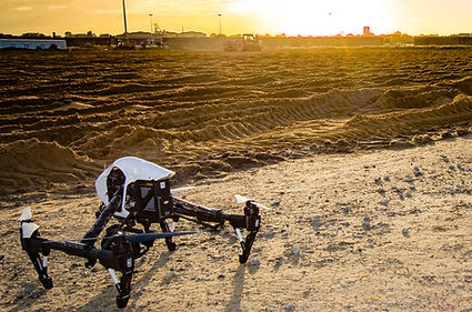 High quality gimbals provide stabilsation from our drones