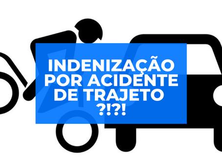 Acidente de trajeto: empregado acidentado pode ter direito a indenização