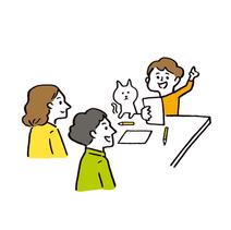 AERA with Kids イラスト