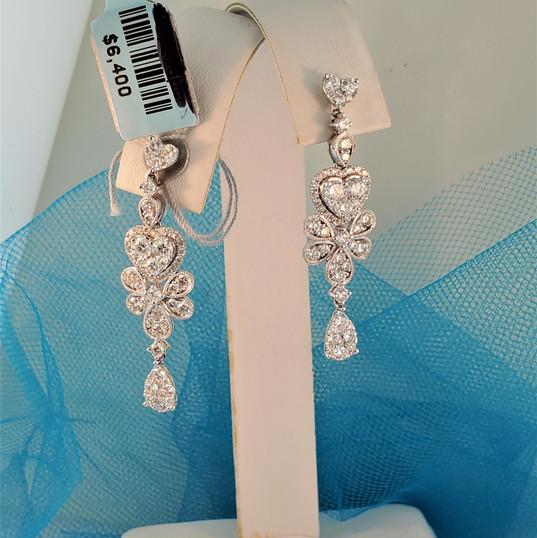 Diamond Cocktail Earrings
