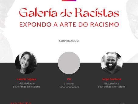 Coletivos lançam galeria de arte expondo mais de 150 monumentos racistas no Brasil