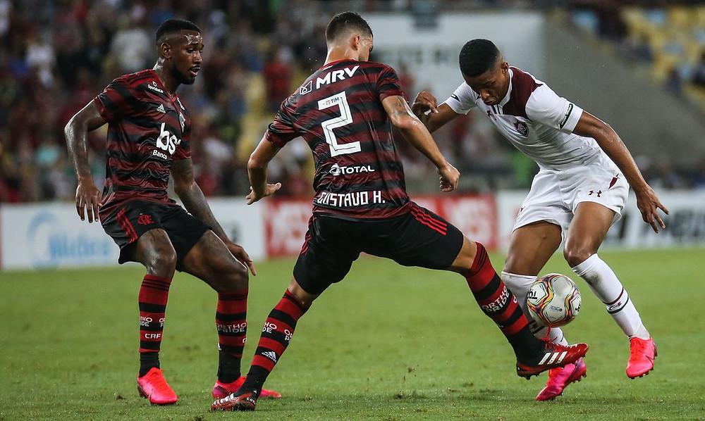Flamengo e Fluminense vão decidir a Taça Rio na próxima quarta (08) no Maracanã. Foto: Agência Brasil