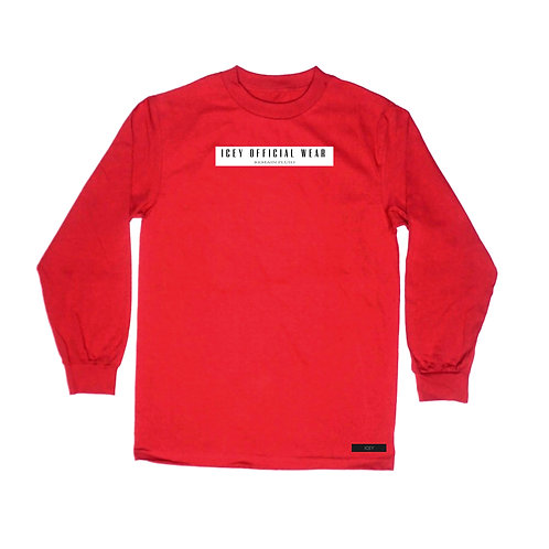 RED - Winter 2020 long sleeve
