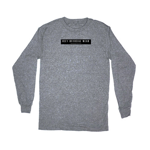 GRAPHITE HEATHER - Winter 2020 long sleeve