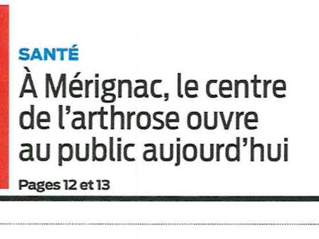24/02/2020 Ouverture du Centre de l'Arthrose