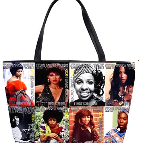 The Eternal Empress Magazine Collage Color Purse