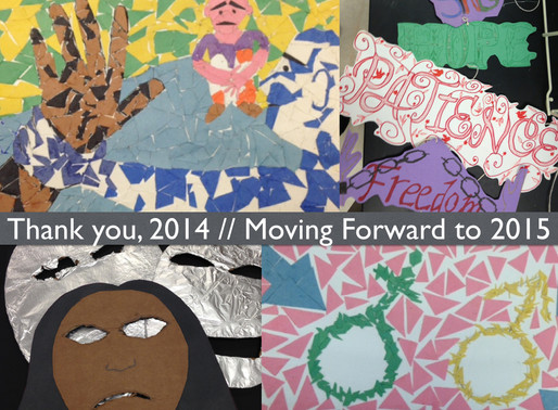 Thank You, 2014 // Moving Forward to 2015
